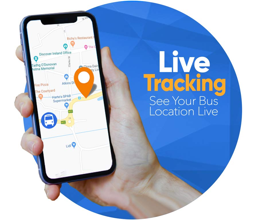 Live Bus Tracking - West Cork Connect
